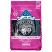 Blue Buffalo Small Breed Wilderness Chicken Adult Dry Dog Food, 4.5 lbs. | Petco Store