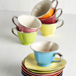 Pastel Dream and Sugar Tea Set in Silver Trim by ModCloth