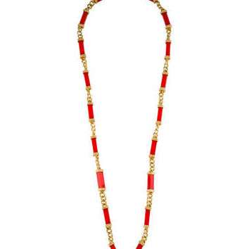 Tory Burch Link Necklace