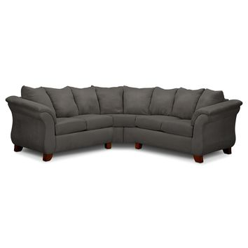Adrian Graphite II 2 Pc. Sectional