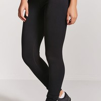 Active Ribbed-Panel Leggings