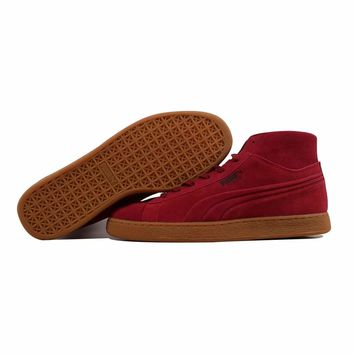 Puma Suede Mid Emboss Rio Red 360802 03