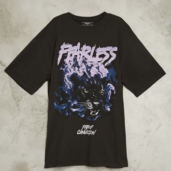 Fearless Panther Graphic Tee
