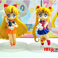 Sailor moon toys figure, Japanese cartoon figure, toys for girls