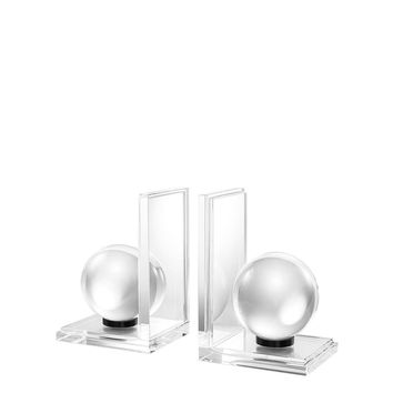 Glass Bookend (set of 2) | Eichholtz Lunda