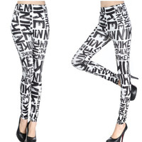 NIKE Graffiti Leggings for Women