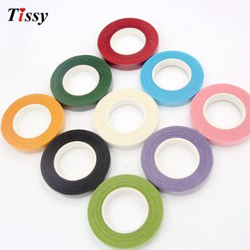 Paper Artificial Garland Tape Flower Wedding party Decoration
