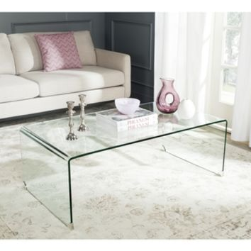Safavieh Atka Clear Acrylic Coffee Table | Overstock.com Shopping - The Best Deals on Coffee, Sofa & End Tables