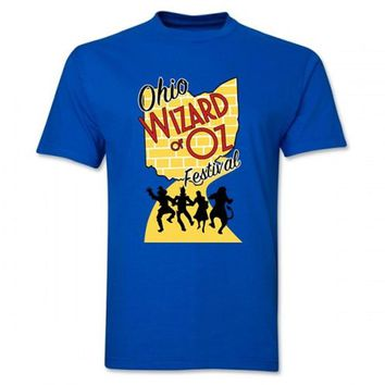 2017 Ohio Wizard of Oz Festival Royal Blue T-Shirt
