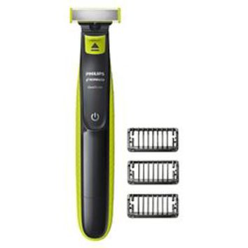 Philips Norelco OneBlade Hybrid Rechargeable Men's Electric Face & Body Trimmer - QP2630/70