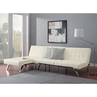Walmart: Emily Futon with Chaise Lounger, Multiple Colors
