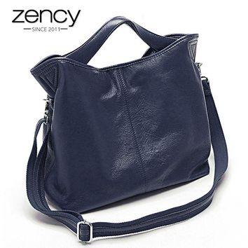 Wholesale Fashion Women Handbag 100% Genuine Leather Real Soft Skin Ladies Tote Bag Charm Shoulder Messenger High Quality