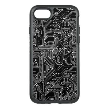 Cool Circuit Board OtterBox Symmetry iPhone 7 Case