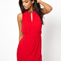 ASOS Chain Wrap Dress