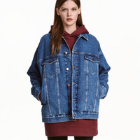 H&M Oversized Denim Jacket $59.99