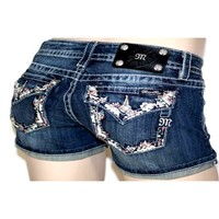 Miss Me Shorts-Spring Fling in Paradise, (Size 27)