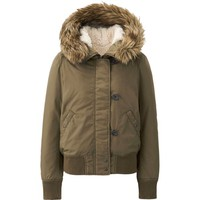 WOMEN MILITARY HOODED JACKET | UNIQLO