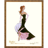 Limited Edition Vintage Becca Barbie Print