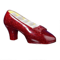 "The Wizard of Oz ""Ruby Slippers"" Musical Jewelry Holder 