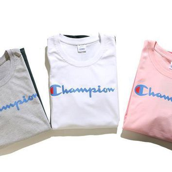 spbest Champion Gradient  T-Shirt