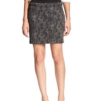 Banana Republic Womens Factory Textured Ponte Skirt