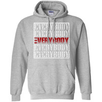Logic Everybody  Pullover Hoodie 8 oz