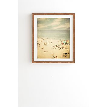 Shannon Clark Vintage Beach Framed Wall Art