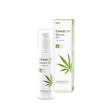 Andalou Naturals Beauty Oil, Cannacell - 1 Fz