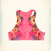 Girls Strappy Pullover High-Neck Bikini Top | Girls Swimwear | HollisterCo.com