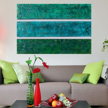 Wood Wall Sculpture - Textured Original Abstract Paintings - Large Modern Wall Art - Unique Modern Art  -  Original Acrylic Paintings