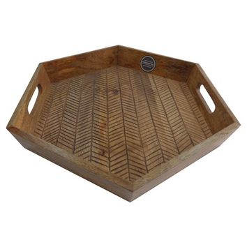 target wooden tray 2