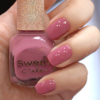 Lotus Pink Sweet Color 12ml Nail Polish [575]