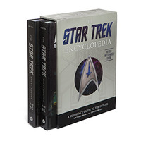 Star Trek Encyclopedia with Signed Bookplates