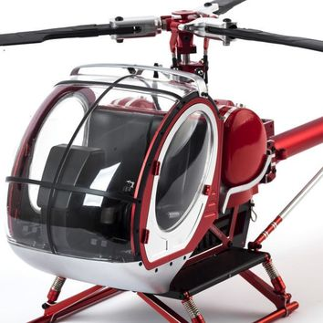 SCHWEIZER HUGHES RC HELICOPTER BRUSHLESS RTF HIGH SIMULATION REMOTE CONTROL HELICOPTER