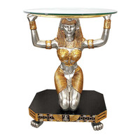 Park Avenue Collection Egyptian Goddess Maat Console Table