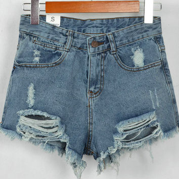 Sexy Women Shorts Denim Shorts  = 4824097540