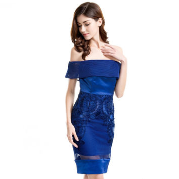 Sugar and Spice Royal Blue Dress