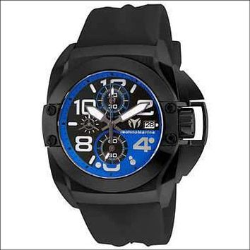 TechnoMarine Men's Black Reef Watch