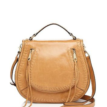 Rebecca MinkoffVanity Distressed Saddle Bag