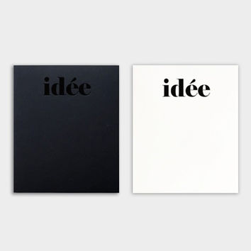 Idee plain drawing notebook