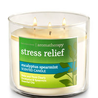 Eucalyptus Spearmint 3-Wick Candle - Aromatherapy | Bath And Body Works