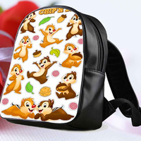 Disney Classic Chip N Dale 2 for Backpack / Custom Bag / School Bag / Children Bag / Custom School Bag **