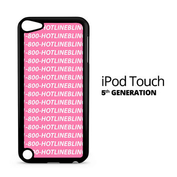 Hotline Bling Drake iPod Touch 5 Case