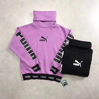 Puma High Neck Pullover Sweater Sweatshirt