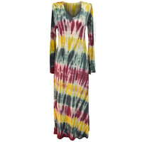 Tie Dye Rainbow Jammin' Dress on Sale for $64.95 at HippieShop.com