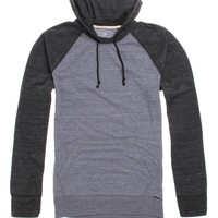 On The Byas Larry Colorblock Pullover Hooded Shirt - Mens Shirt - Blue - Small