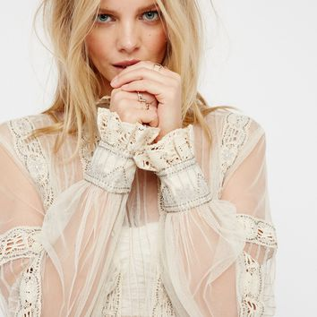 Free People New Romantics Alexander Blouse