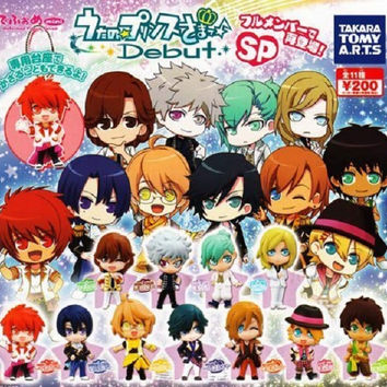 Takara Tomy Uta no Prince-sama Debut+ Gashapon SP 11 Mascot Swing Strap Figure Set