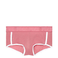 Logo Boyshort - PINK - Victoria's Secret