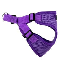 Wrap and Snap Choke Free Dog Harness — Paisley Purple